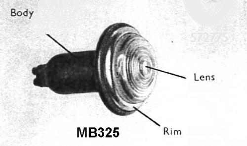 MB325 Sidelamp