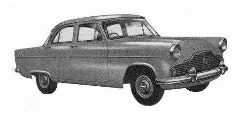 English Ford Zephyr