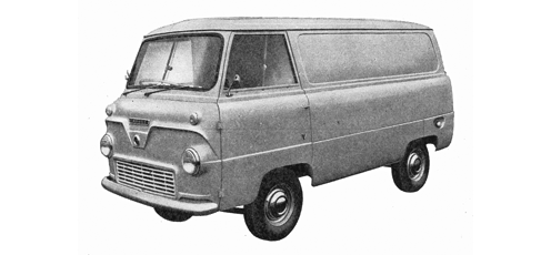 English Ford Van