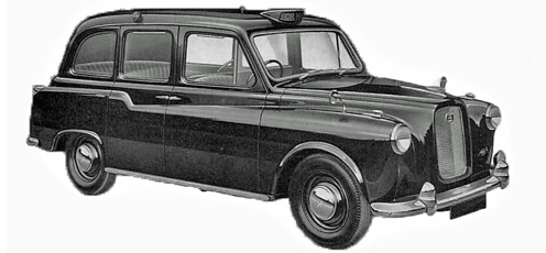 London Taxi FX4