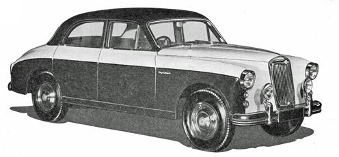 Riley Two-Point-Six sedan