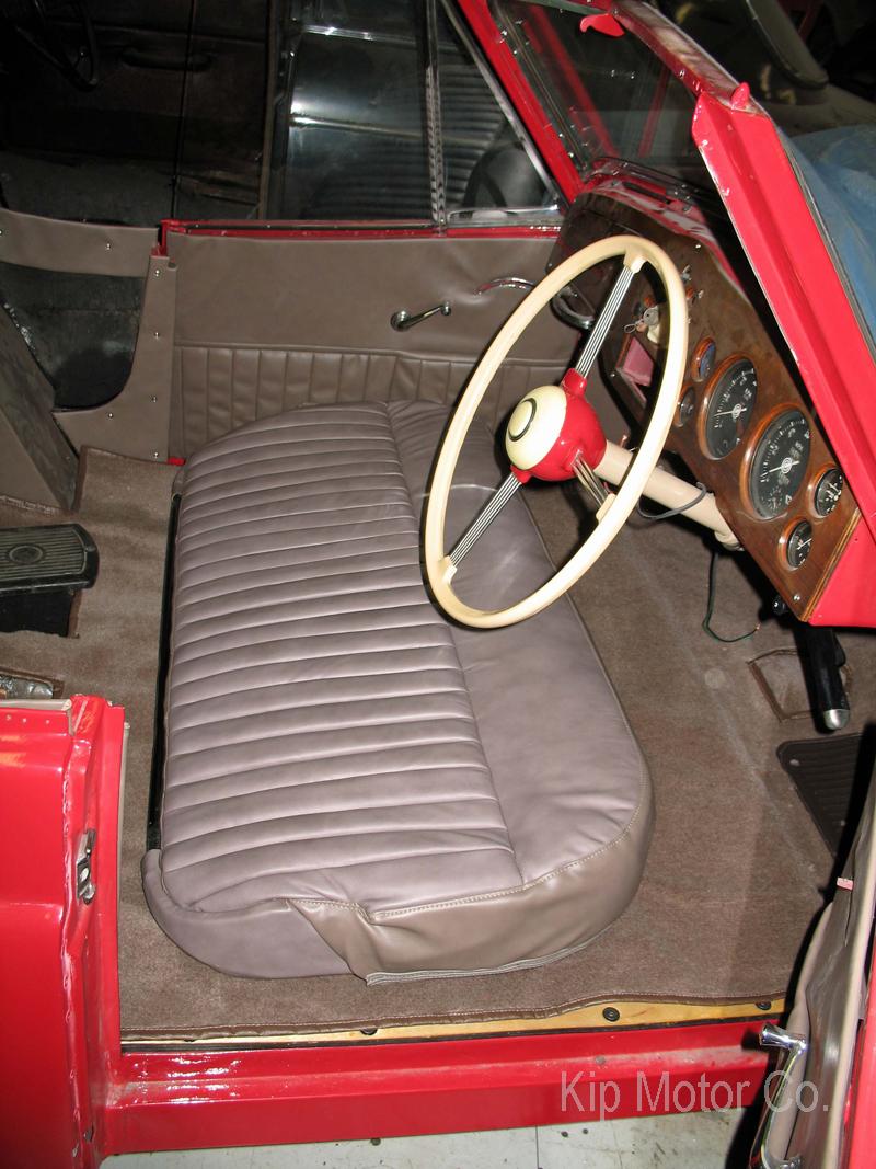 Restoration: 1951 Jowett Jupiter