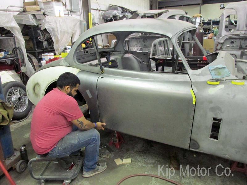 Restoration: 1958 Jaguar XK150