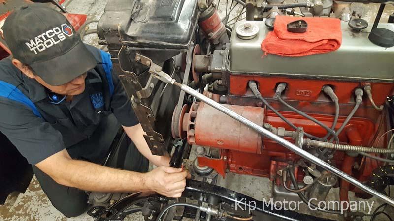 Restoration: 1958 MG TD