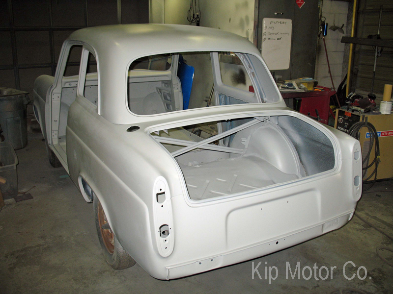 Restoration: 1959 Ford Anglia 100E