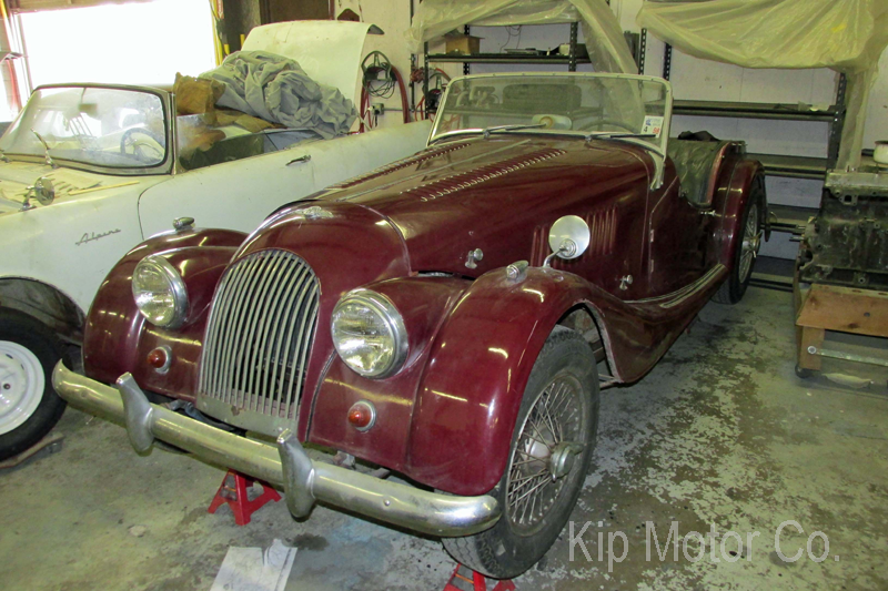 Restoration: 1965 Morgan +4