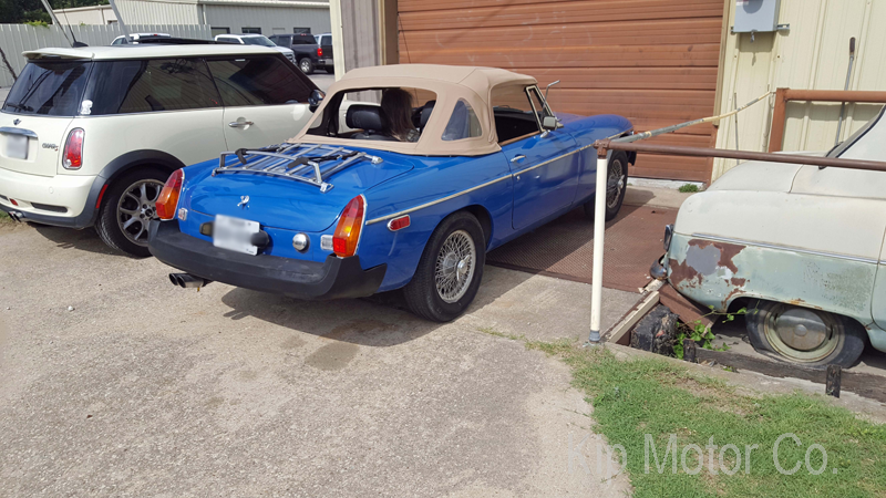 Service – Tune-Up: 1977 MGB