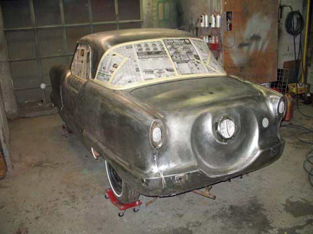 Restoration: 1962 Metropolitan