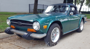 Triumph TR6 convertible top replacement