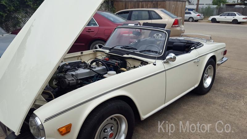 Service – Return to Service: 1976 Triumph TR6