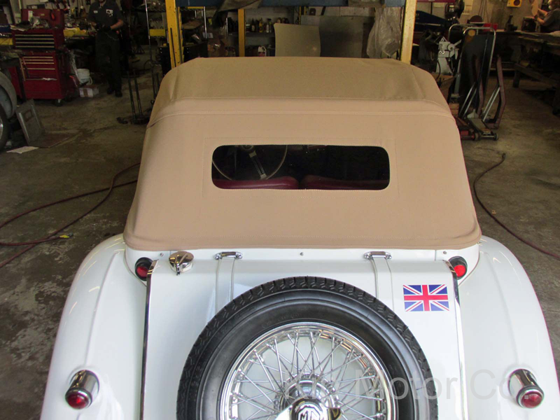 Service – Convertible Top Install: MG TF