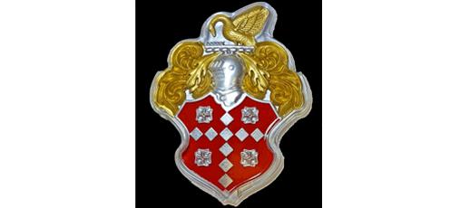 Side door emblem for Packard Caribbean