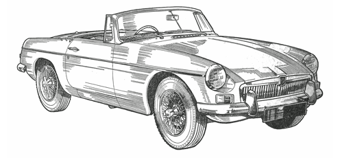 Authentic Parts for the MGB